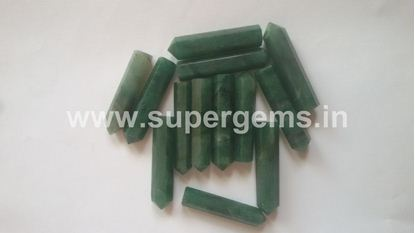 Picture of green aventurine pencil
