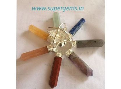 Picture of 7 chakra crystal merkaba genrator