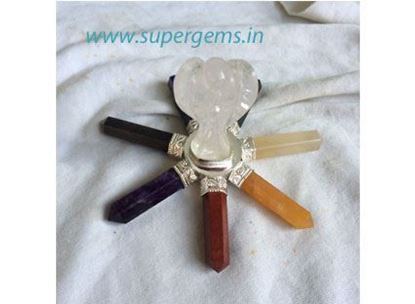 Picture of 7 chakra angel genrator