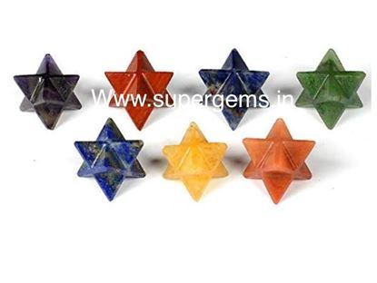 Picture of 7 chakra merkaba star