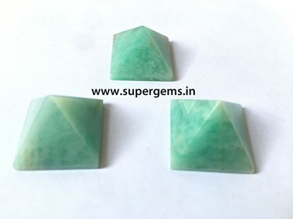 Picture of amazonite pyramid