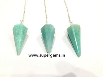 Picture of amazonite pendulum