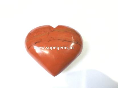Picture of red jesper puffy heart