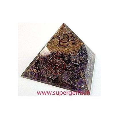 Picture of AMETHYST ORGONE PYRAMID
