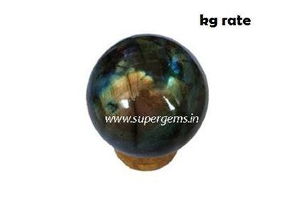 Picture of labradorite sphere