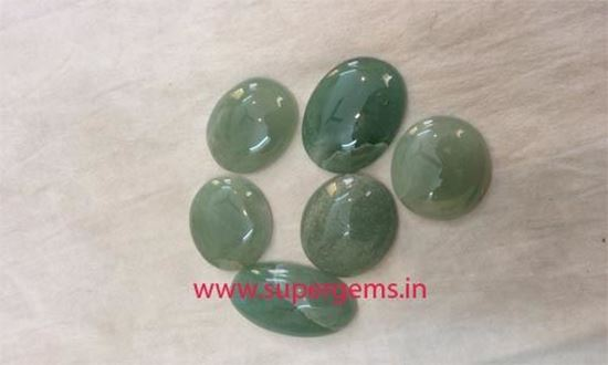 Picture of green aventurine cabs