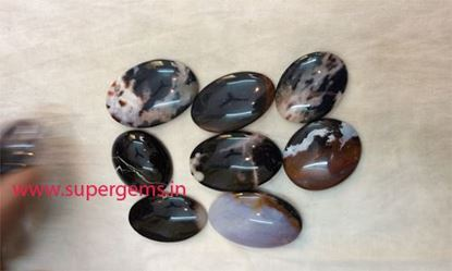 Picture of moss agate cabs