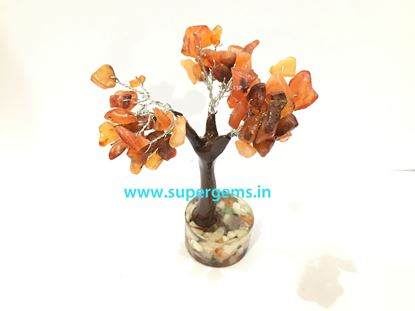 Picture of carnelian orgonite base small tree