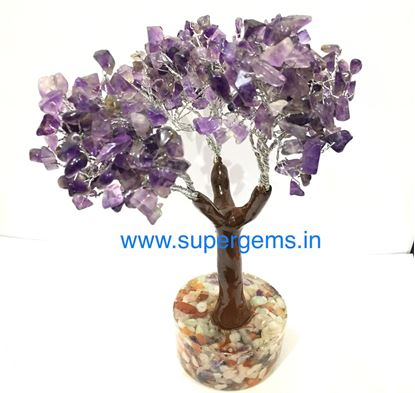 Picture of amethyst 300 stone orgone base tree