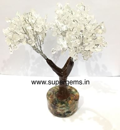 Picture of clear quartz 300 stone orgonite base tree